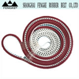Red Grass Pattern Rubber Coating PU Timing Belts 19h9105.9