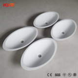Wholesale Resin Stone Small Size Bathroom Sink Washing Hand Basin