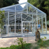 Outdoor Large Luxury Transparent Wedding Marquee Exhibition Tent in Europe on Promotion