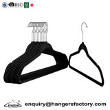 Custom Amazon Basics 50 Thin Black Velvet Shirt Clothes Hanger Wholesale
