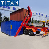 Sidelifter 20FT 40FT Container Lift Sideloader Self Loading 37 Ton Side Loader Lifter Truck Semi Trailer for Sale Price