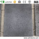 Chinese Cheap Natural Stone/ Flamed Hainan Black Basalt Tiles for Flooring and Wall