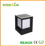 Solar Powered Pillar Lights Fixture Project, Outdoor Solar Lighting System for Fence Post