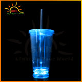 Wholesale Distributors Party Supplies LED Flashing Light Double Wall Cup