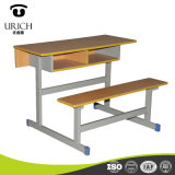 Cheap School Furniture Indian Wooden Classroom Table and China High Quality Desk and Bench
