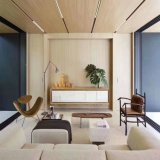Quick Installation Wood Wallboard Simple Style PVC Wall Panel Background Wall Decoration