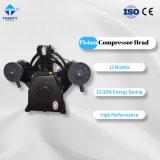 AC electric Air Piston Compressor Pump/Head Reciprocatory Compressors Parts Portable Single-Stage Pump 11kw 15hpp 14bar