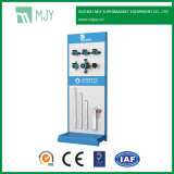 Metal Hardware and Tools Display Rack with Perforated Back Panel with Round Holes