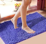 2015 Fashion New Design 100% Chenille Products Anti Slip Carpet Rug Mat