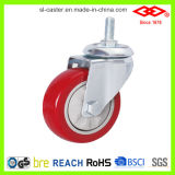 100mm Swivel Locking PVC Medium Duty Caster (P120-35E125X32Z)
