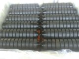 Roller Conveyor Parts Rubber Coated Troughing Idlers Conveyor Roller