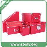 Durable Cardboard Desktop Stationery Paper Storage Box