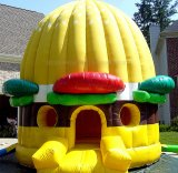 Bounce House, Hamburger Jumper Castle, Burger King Inflatables (B1014)