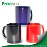 Wholesale Coated Colour Change Ceramic Tea Mug for Sublimation