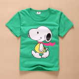 Printing Embroidery Cotton Children Kids T-Shirts