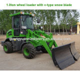 1 Ton Wheel Loader with Snow Blade
