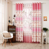 Countryside Style Print Curtain Fashion Curtain (KS-153)