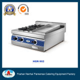 2-Burner Gas Stove with Gas Griddle (HGR-902)