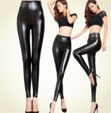 New Artificial Leather Leggings for Women Thin Tight Pants
