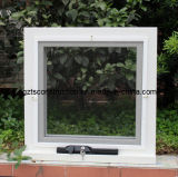 Aluminum Chain Winder Awning Window with Double Glazing