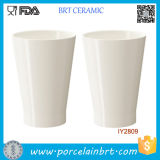 Custom Wholesale White Ceramic Planter Pot