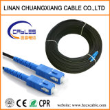 Fiber Optic OEM Manufactory Aerial Jgxh G657A FRP/Kfrp/Steel Wire 1 2 4 6 8 10 Core FTTH Drop Cable