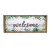 New Fashionable MDF Frame for Home Deceration Wooden Craft Welcome Summer