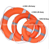 2.5kg Marine Life Buoy with Life Line and Support