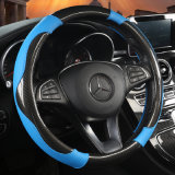 Car Accessories PVC Carbon Fibre Car Steering Wheel Cover