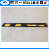 Pairs Contoured Rubber Car Stop for Garage Rubber Lane Divider