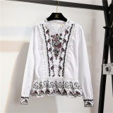 Lady's Embroidered Shirts, Nice, Fashion Colthing, Wts45802V