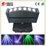 6 Rotating LED Moving Head Beam Light