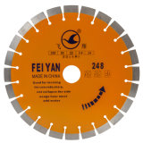 350mm Laser Diamond Saw Blade for Reinforced Concrete Cutting