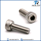 M4 X 12mm Stainless 316 Knurled Socket Cap Head Screw