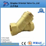 Brass Y Filter with Ss Screen, Pn16, Oil, Air Gas, Water Medium