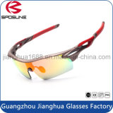 Wholesale Custom Logo Sunglasses Cat 3 Cycling Riding Sports Eyewear UV400 Protection Glasses
