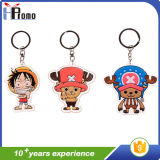 Cartoon Design PVC Key Chain for Promotion