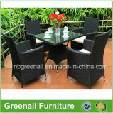 4 Person All Weather Rattan Outdoor Patio Dining Garden Furniture