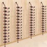 European Wrought Iron Wall Wine Rack Wine Bottle Racks