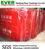 Electrostatic Spray Smooth Semi Glossy Matt Red Ral3020 Powder Coating Paints for Fire Extinguisher Cabinet