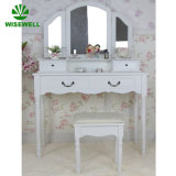 Wood French Mirrored Furniture with Drawer (W-HY-015)