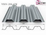 2015 New Galvanized Corrugated Steel Floor Deck Yx51-226-678