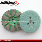 "3"" Velcro Backing Metal Bond Polishing Pad for Grantie, Marble"