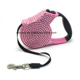 Crystal Retractable Dog Leash Pet Products Pet Supply Diamond Dog Leash