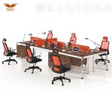 Modern Stright Way Office Workstation Partition 6 People (HY-Z01)