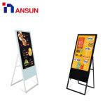 Indoor Portable Folding Network WiFi Advertising LCD Video Player