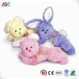 Floppy Pastel Stuffed Bunnies