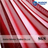 Printed Denim Cloths Strong Mesh Fabric 95% Nylon 5% Spandex for Ladies Dress