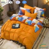 Bedsheet Polyester Bedding Set 3PCS/4PCS Fitted Sheet Bedline Factory Guangzhou