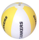 Promotional PVC Inflatable Beach Ball with Customer Logo Printing